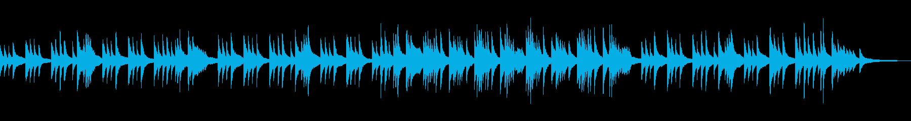やさしい あたたかい場面のピアノソロ 1の再生済みの波形