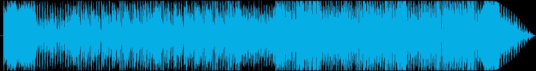 ハイテンションなブラスのポップチューンの再生済みの波形
