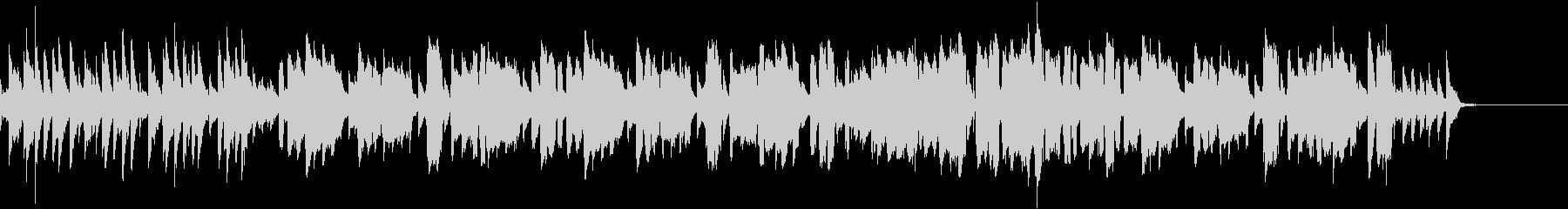 フィードルが奏でるカントリーミュージックの未再生の波形