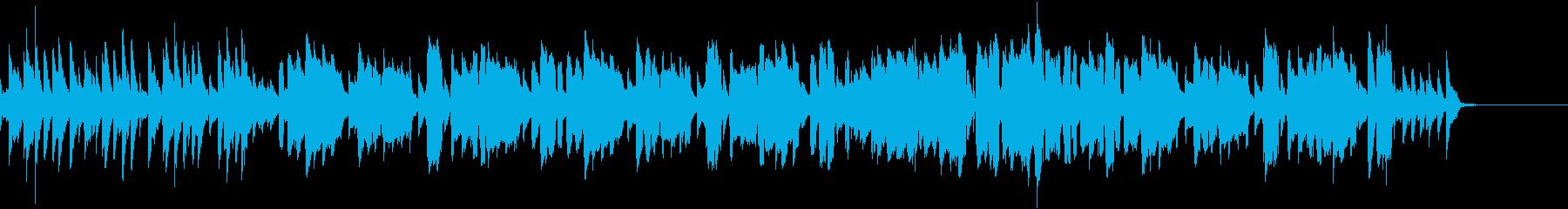 フィードルが奏でるカントリーミュージックの再生済みの波形
