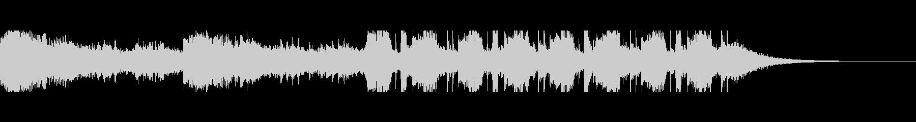 中東砂漠(30秒)の未再生の波形