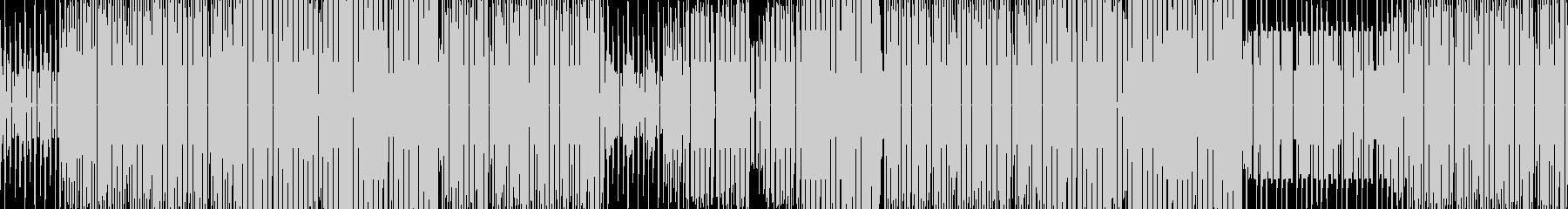 オープニングに最適なBGMの未再生の波形