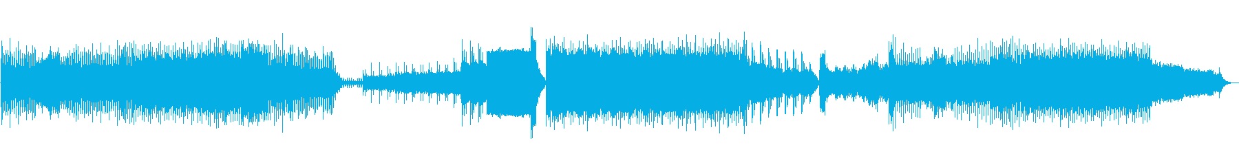 90年代風のユーロテクノ音楽。さま...の再生済みの波形