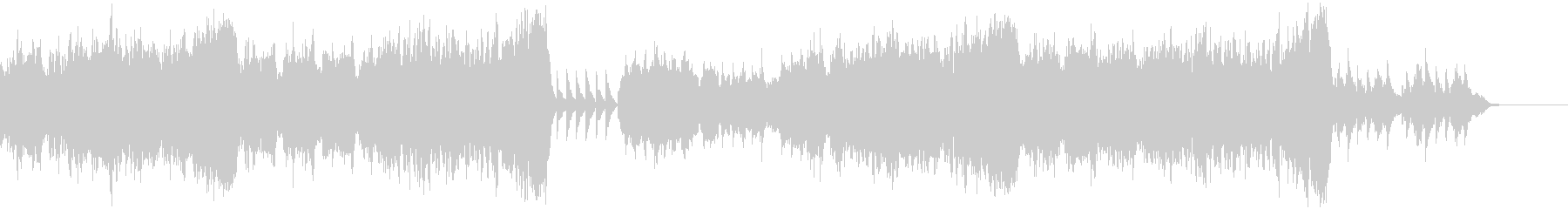 ストリングスのバラード曲の未再生の波形