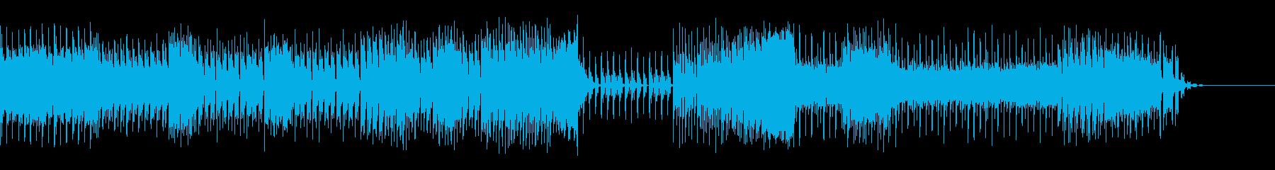 シリアスなシーンに合うダンスミュージックの再生済みの波形