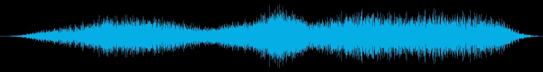 焼きつばめの再生済みの波形