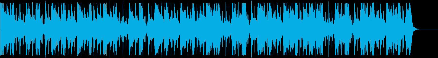 キラキラ/ローファイ_No593_4の再生済みの波形