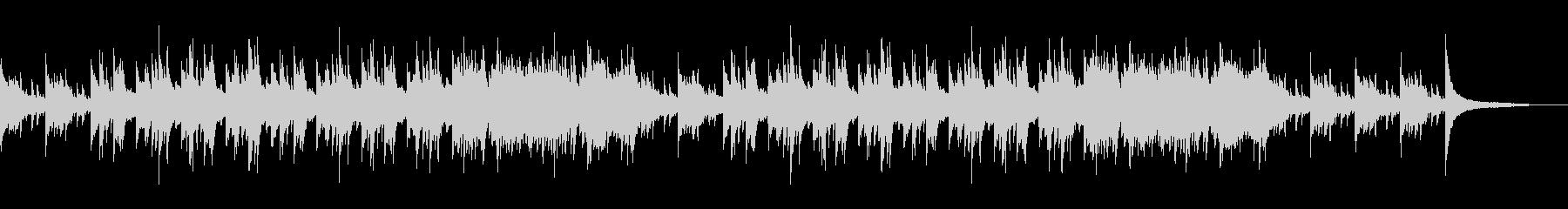 天気予報BGMに最適なピアノストリングスの未再生の波形
