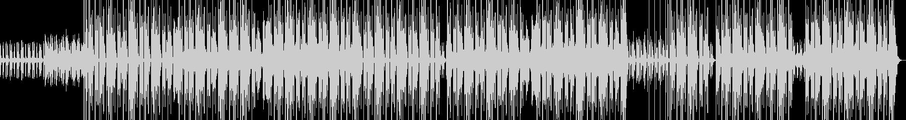 【808】ダークで、ディープな一曲の未再生の波形