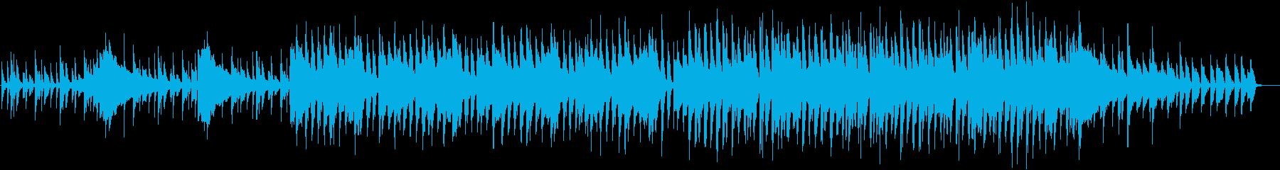 刑事ドラマOPのようなハードボイルドな曲の再生済みの波形