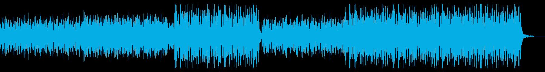 かわいい冬季用BGMの再生済みの波形
