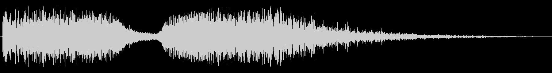 シャララ(アップダウン・ワープ等)の未再生の波形