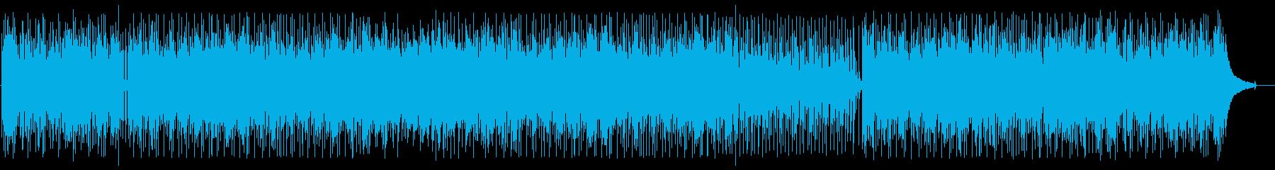 明るくポップなシンセサウンドの再生済みの波形