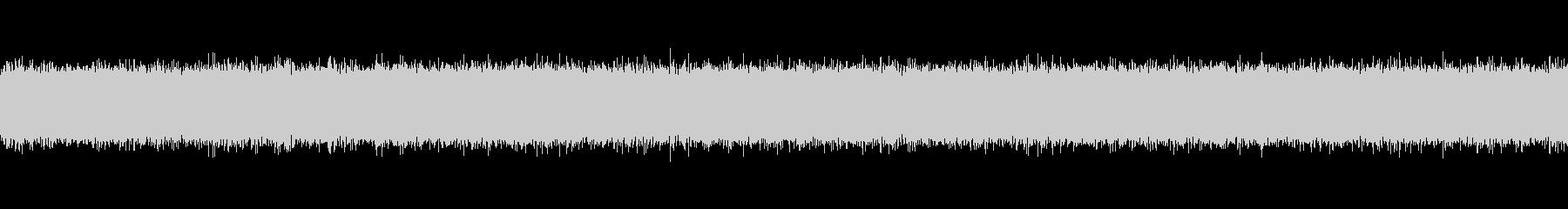 秋の虫の声と川の音2の未再生の波形