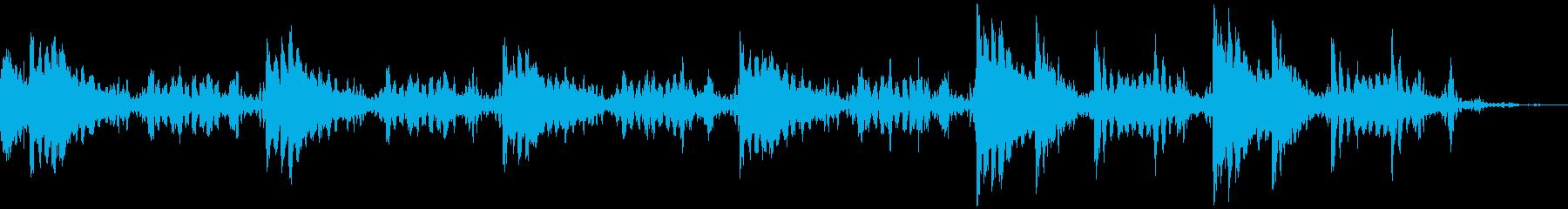 1分6秒BGM 疑惑・サスペンスの再生済みの波形