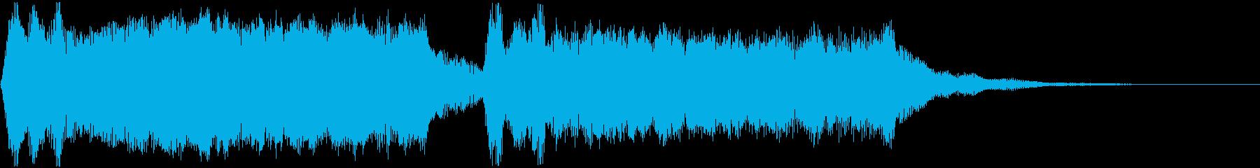 ベートーベン「運命」のジングル版です!の再生済みの波形