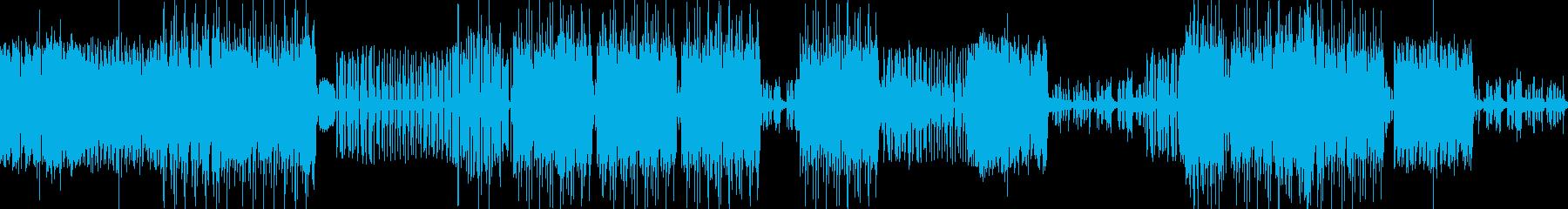 エキゾチックなアラビアンBGMの再生済みの波形