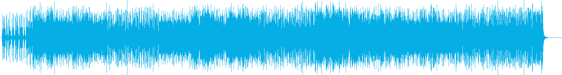 転がるようなノリでポップなシンセ曲の再生済みの波形