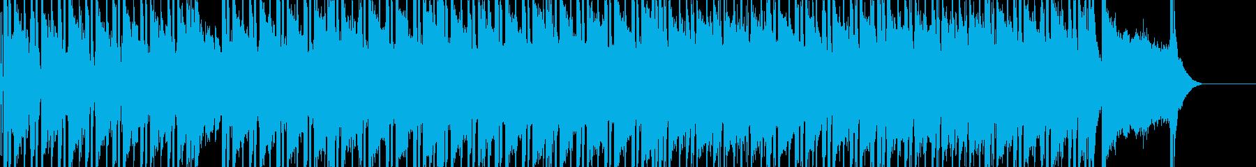 日常シーン向けの曲です。の再生済みの波形