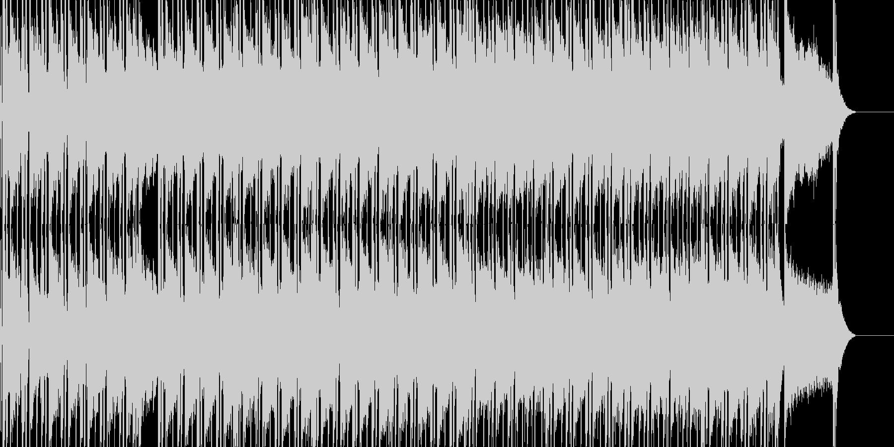日常シーン向けの曲です。の未再生の波形