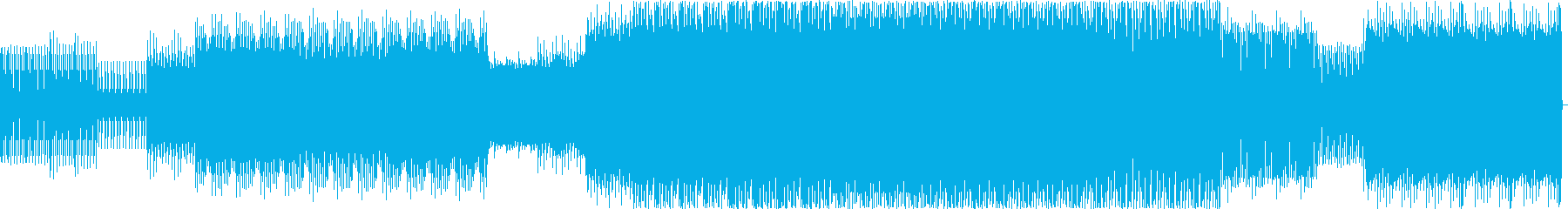 ディープ・ハウス。夜の音楽。の再生済みの波形
