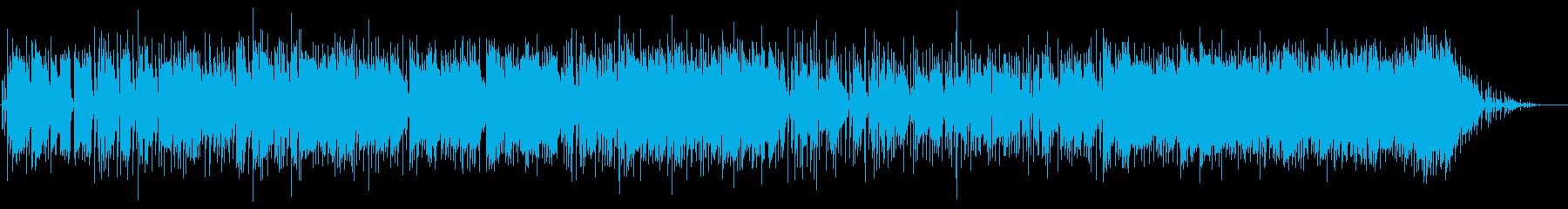 すてきなホーン配置を備えたより遅い...の再生済みの波形