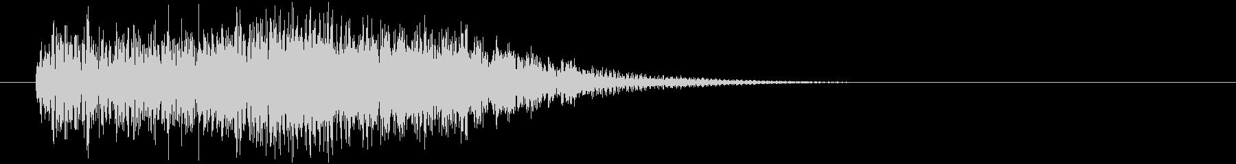 蠢くX(ホラー系)の未再生の波形