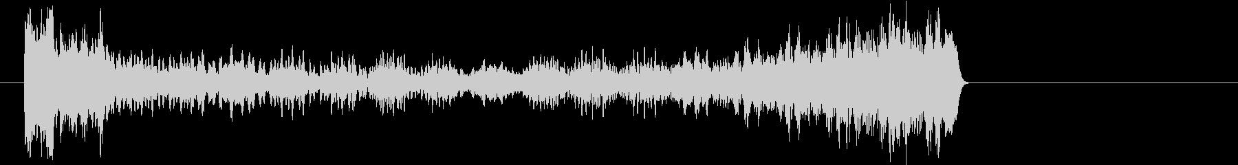 サウンドロゴ オルガンAの未再生の波形