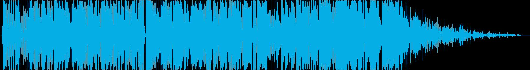 ブラスバンドとピアノによるファンキーな曲の再生済みの波形