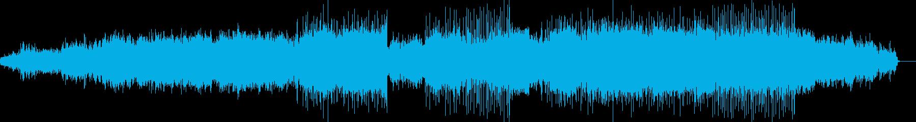 【変拍子】クリスマス、暖かい、ゆっくりの再生済みの波形