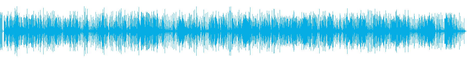 クリアなオルゴール楽曲01(動作音あり)の再生済みの波形