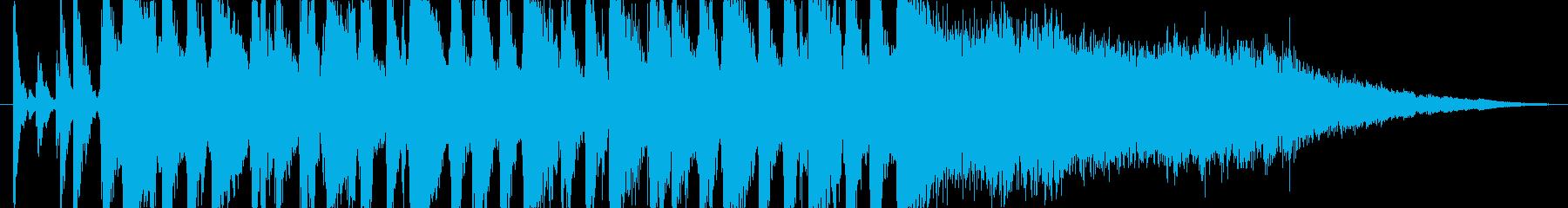 【CM・ジングル用】疾走感ジャズ・サンバの再生済みの波形