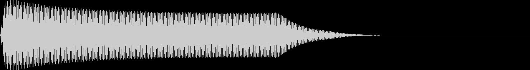 選択音 決定音 シンプル A12の未再生の波形