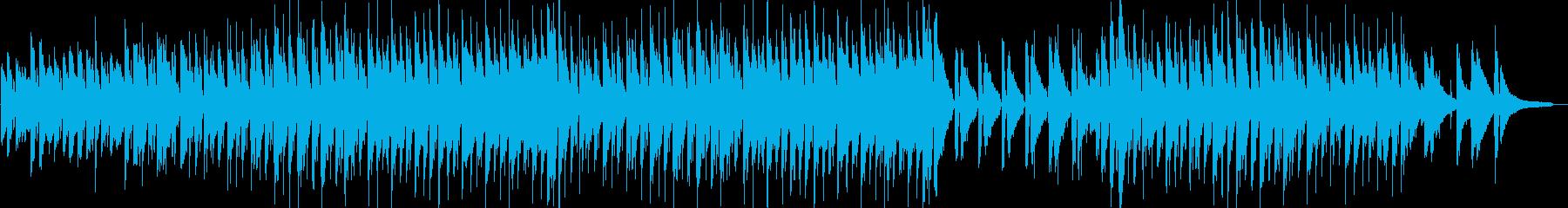 わくわく・ハッピー・映像・イベント用の再生済みの波形