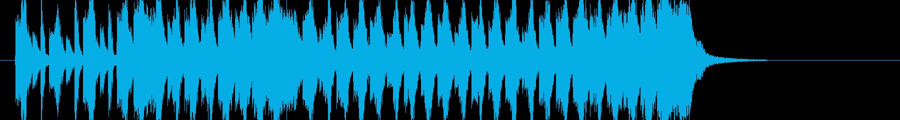 煽りEDM アイネクライネ ショート2の再生済みの波形