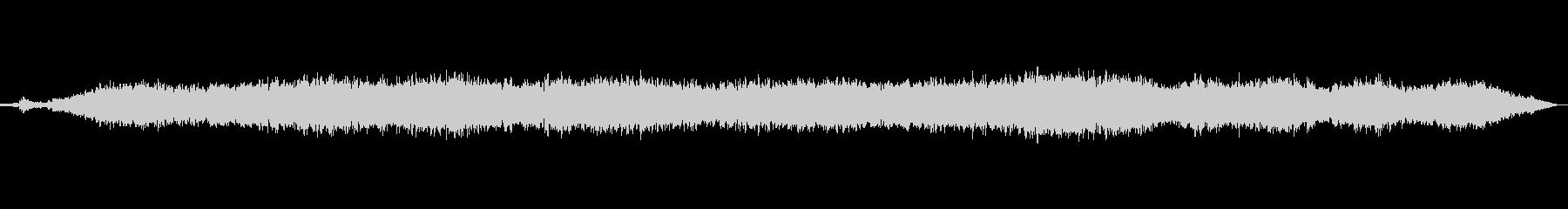 神秘的な音色のジングルの未再生の波形
