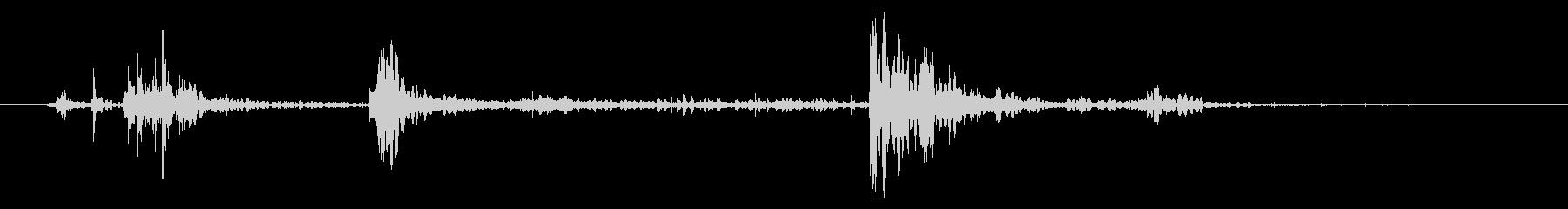 ミディアムロック:タンブルダウンヒルの未再生の波形