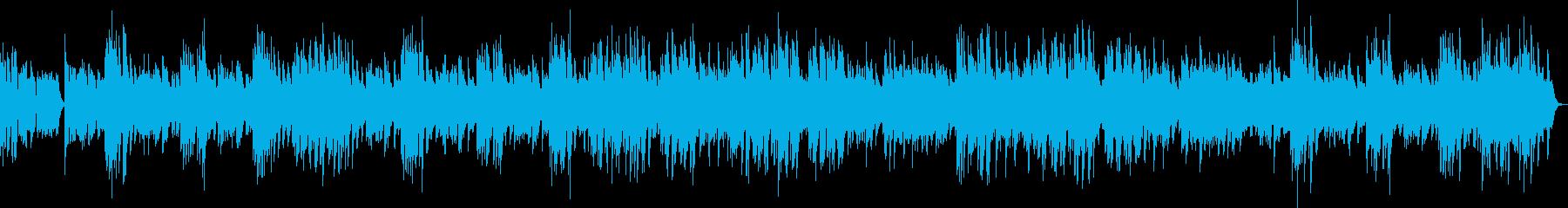 昔のフィルム映画やラジオ風のラグタイム2の再生済みの波形