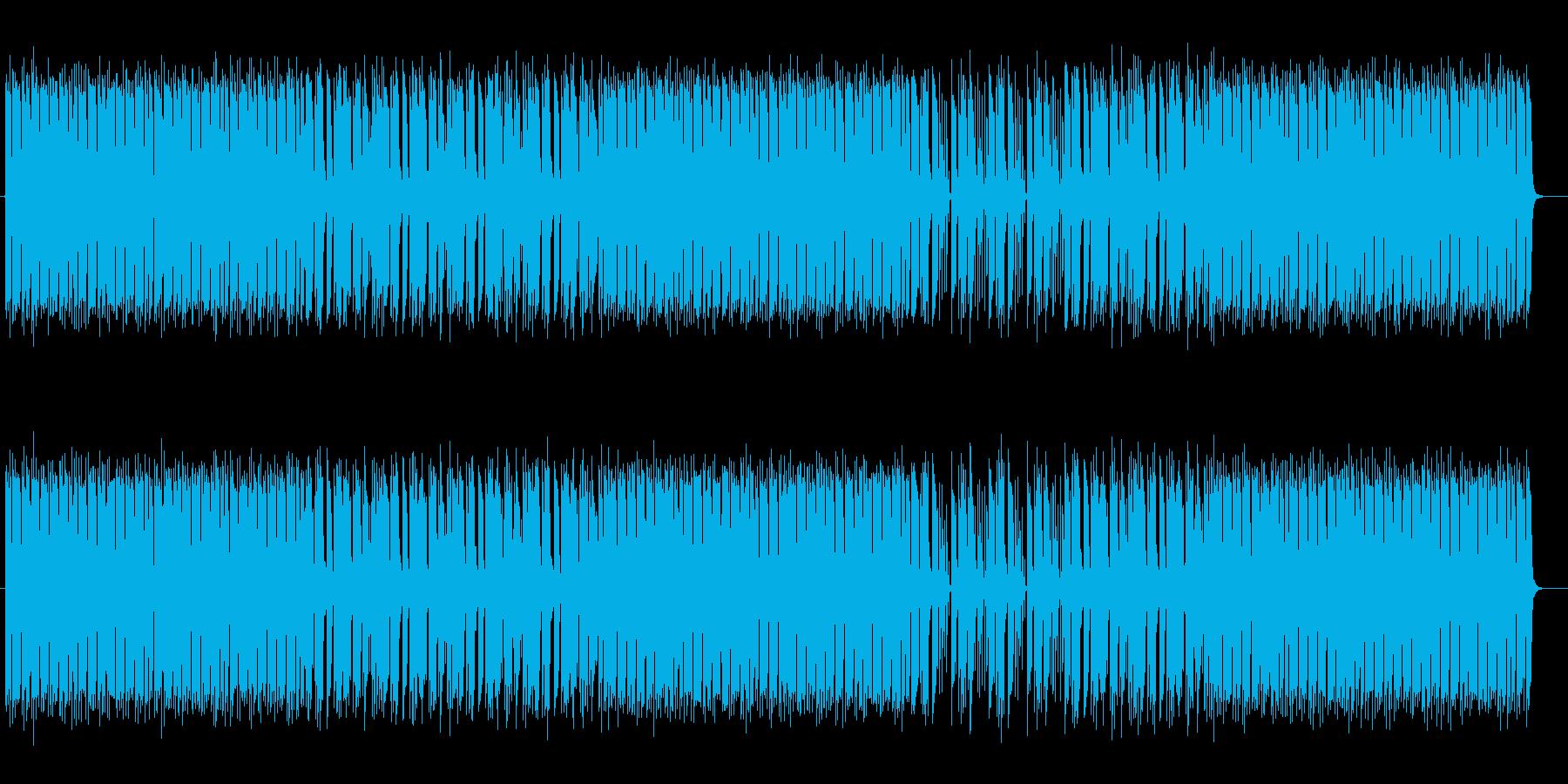 スペイシーでポップなシンセミュージックの再生済みの波形