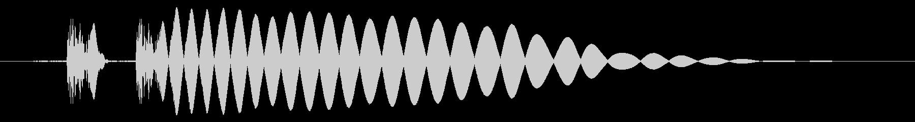 EDM/IDM系の埋もれないバスドラ5cの未再生の波形