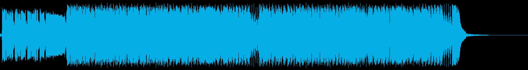 ざらざらした、ブルージーなギターロ...の再生済みの波形