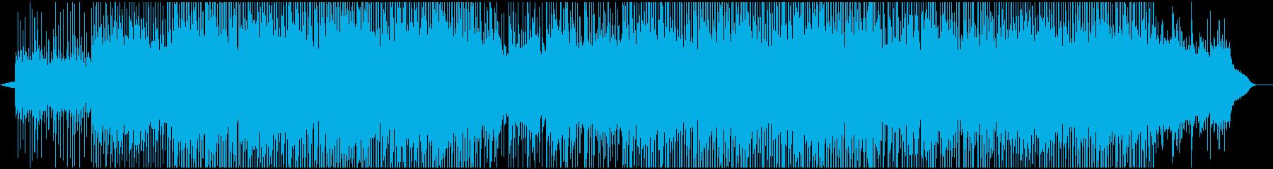 ポップ テクノ おしゃれ お祭り ...の再生済みの波形