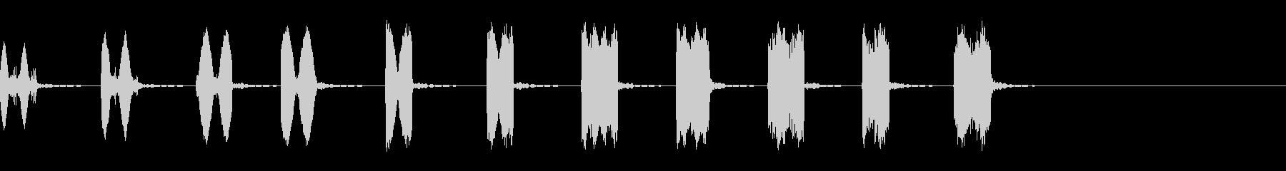 スパイシーなゲーム効果音,SE07-06の未再生の波形