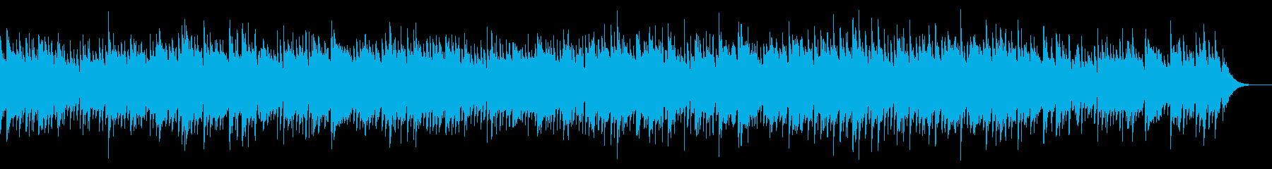 切ない癒しピアノギター の再生済みの波形
