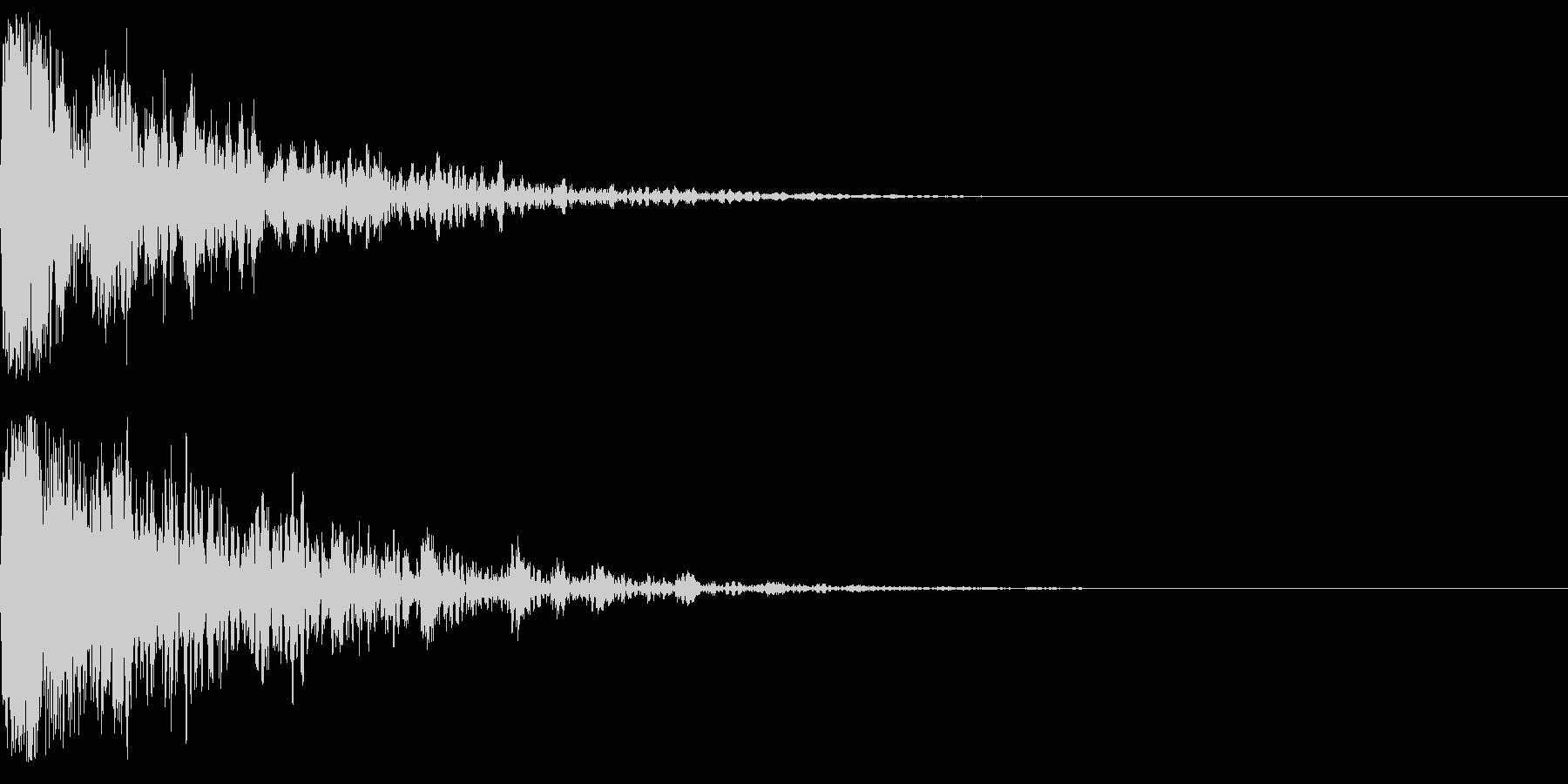 ドーン-56-2(インパクト音)の未再生の波形