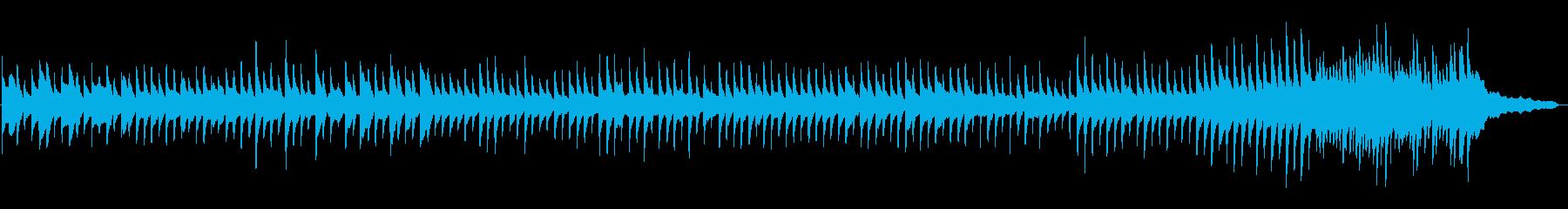 「倍音ピアノの奇妙な階段」静かな恐怖の再生済みの波形