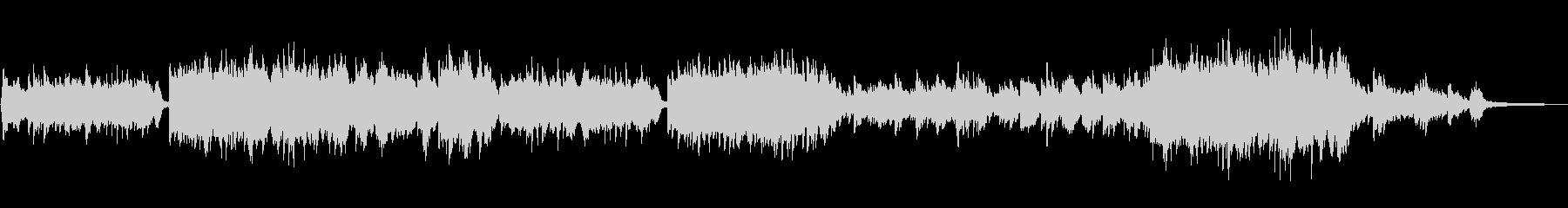 ほんのり和風のミドルテンポのピアノソロの未再生の波形