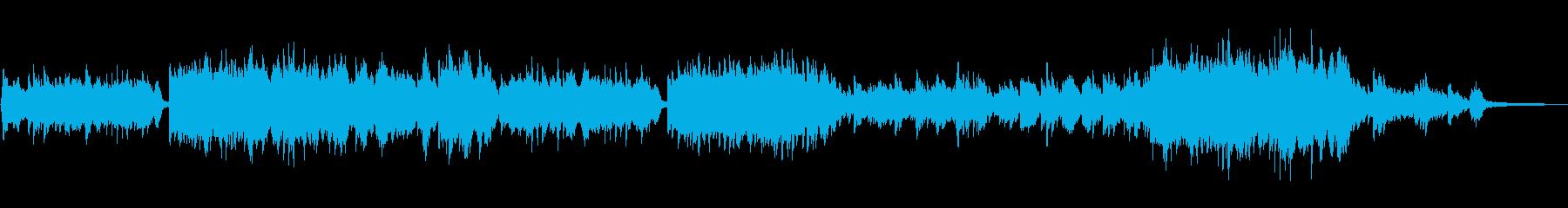 ほんのり和風のミドルテンポのピアノソロの再生済みの波形