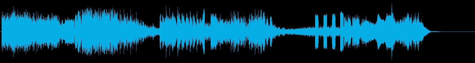 テレメトリーショットの再生済みの波形