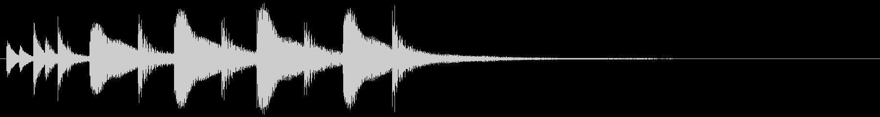 ドラム/ティンバレス フィルイン 13の未再生の波形